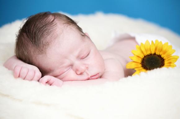 夏生まれの赤ちゃん