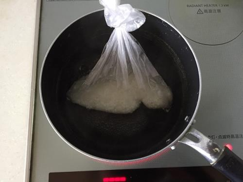 災害時の炊飯の仕方の画像