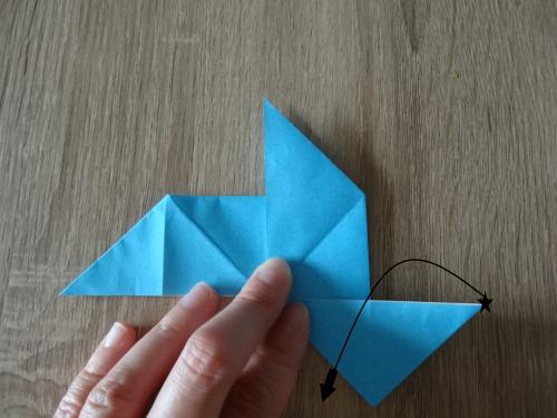 折り紙でだまし船を作る手順と遊び方の画像