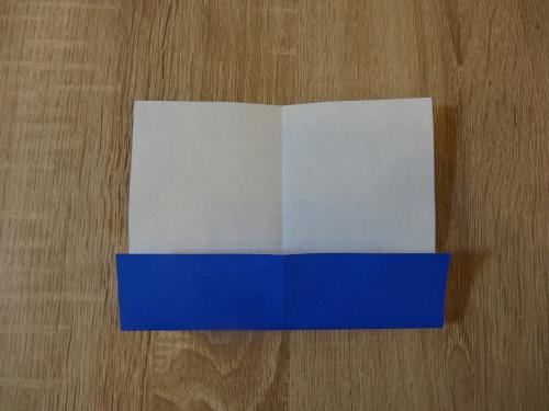 折り紙でギフトボックスを折る折り方の手順の画像