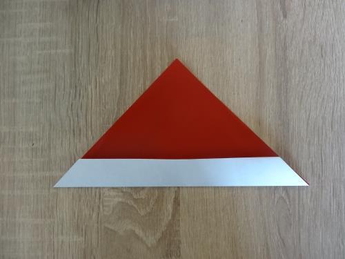 折り紙で栗を折る折り方の手順画像