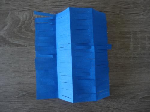 折り紙で天の川を作る作り方の手順画像